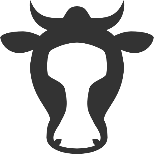 Giles Metcalfe Digital Cow Logo